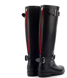 Stylish Zipper Tall Boots - Fashion Addict Shop