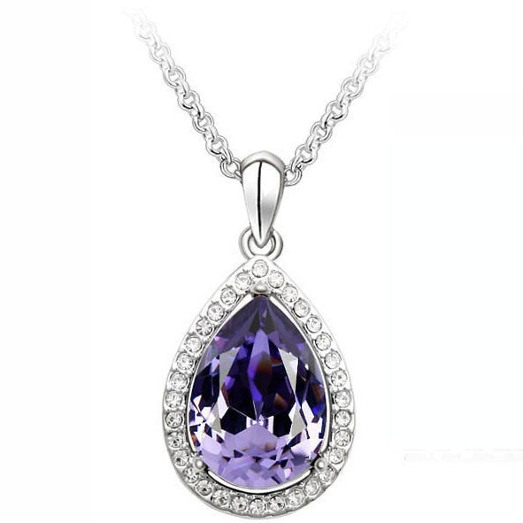 Luxury Simple Big Water Drop Pendant - Fashion Addict Shop