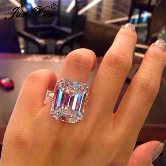 Austrian Crystal Ring - Fashion Addict Shop