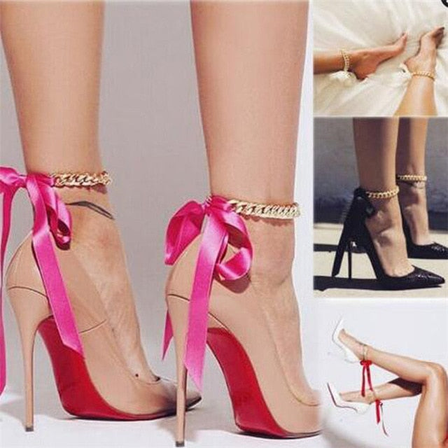 Lovely Shoe Chains - Fashion Addict Shop