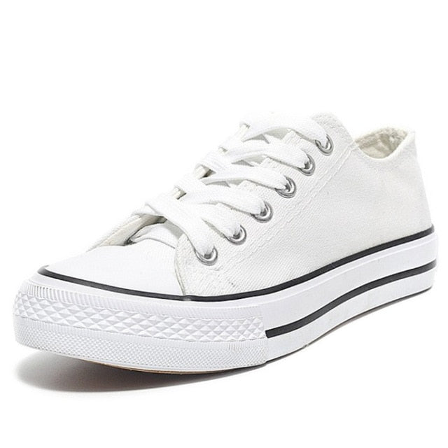 Canvas Sneakers - Fashion Addict Shop