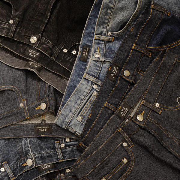 A.P.C. DENIM JEANS FIT GUIDE