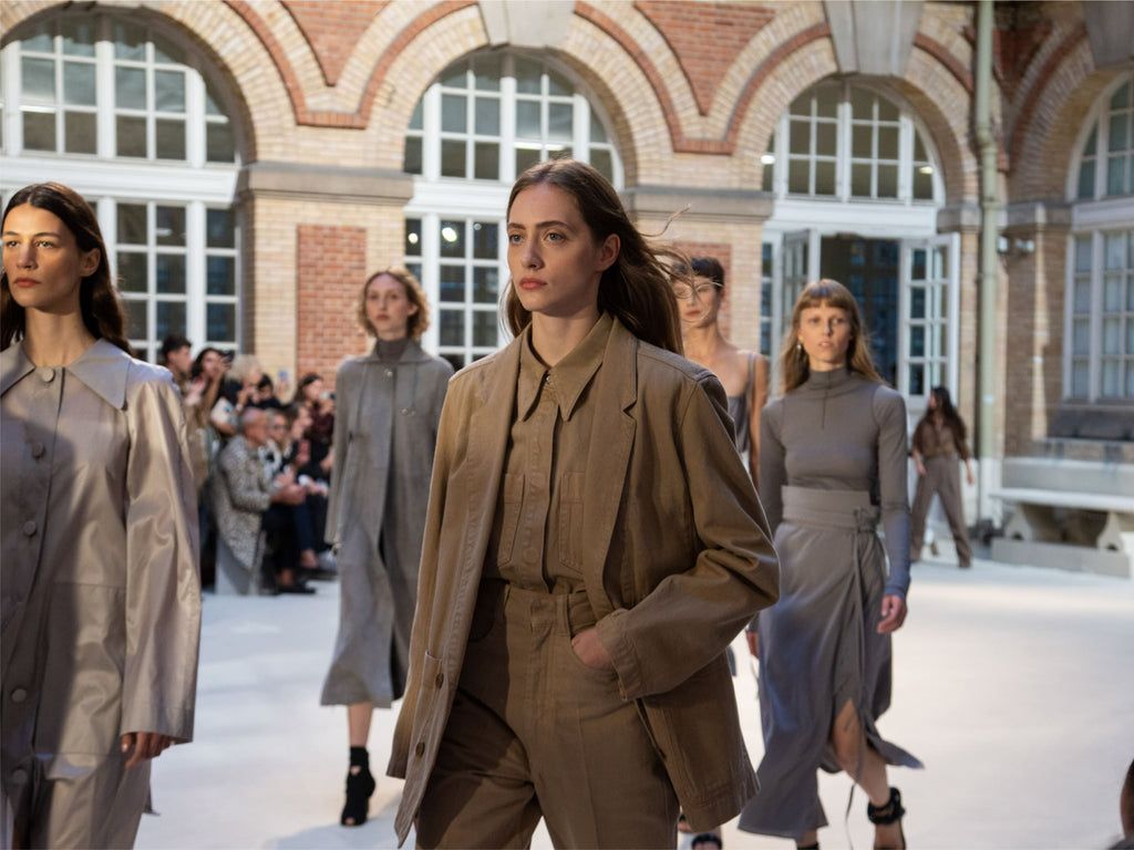 Lemaire Spring Summer 20 Fashion Show at the École Duperré in Paris