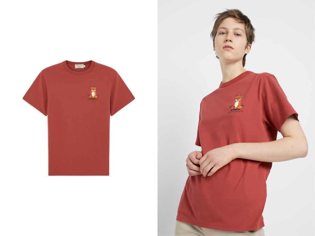 Manifesto Maison Kitsune Lotus Fox Red