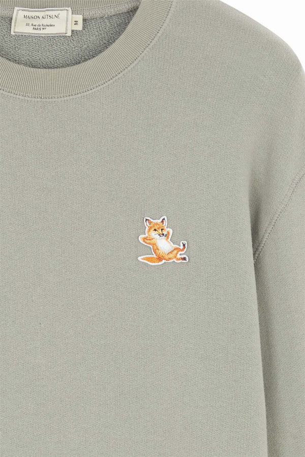 Grey Chillax Fox Sweatshirt