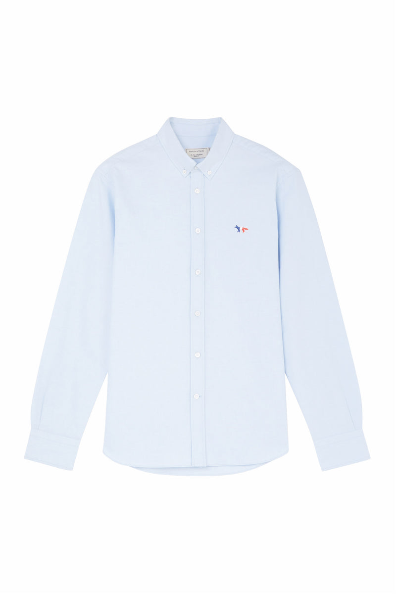 Tricolour Fox LBlue Oxford Shirt