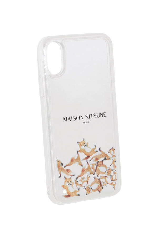 Aqua Yoga Fox Iphone Case