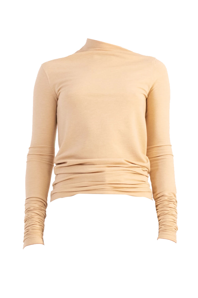 Asymmetric Long Sleeve Sweater