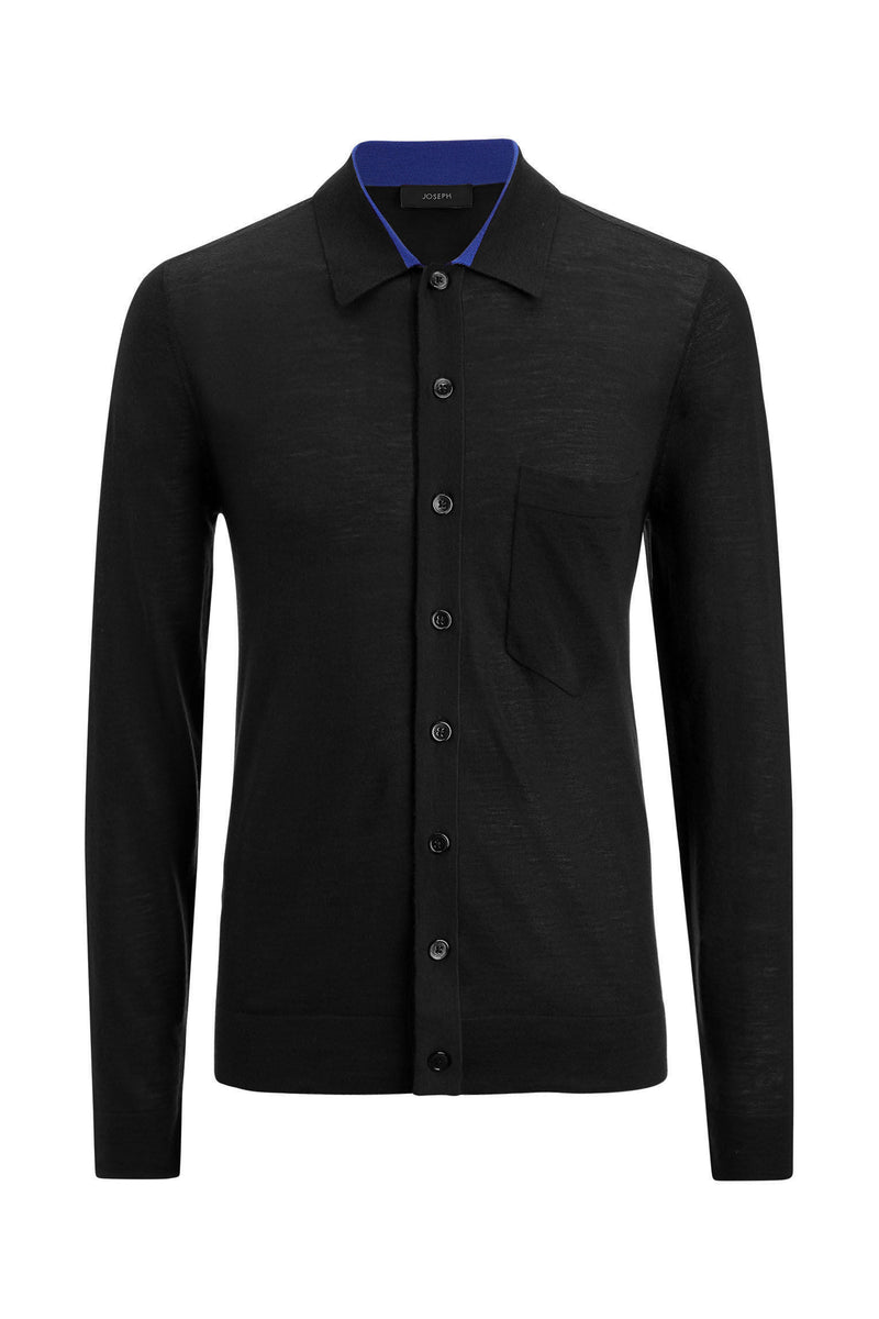 Black Merinos Light Shirt