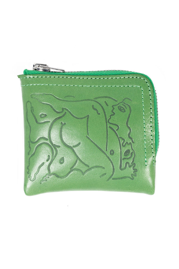 Green Wild Wild Breasts Wallet