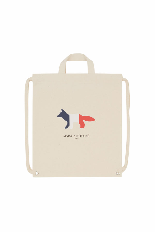 Tricolour Fox Tote Backpack