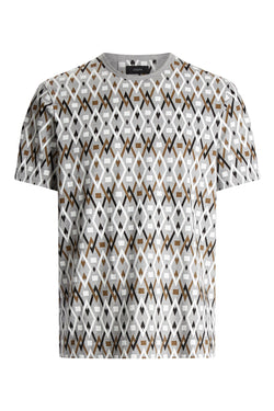 Diamond All Over Print Tee