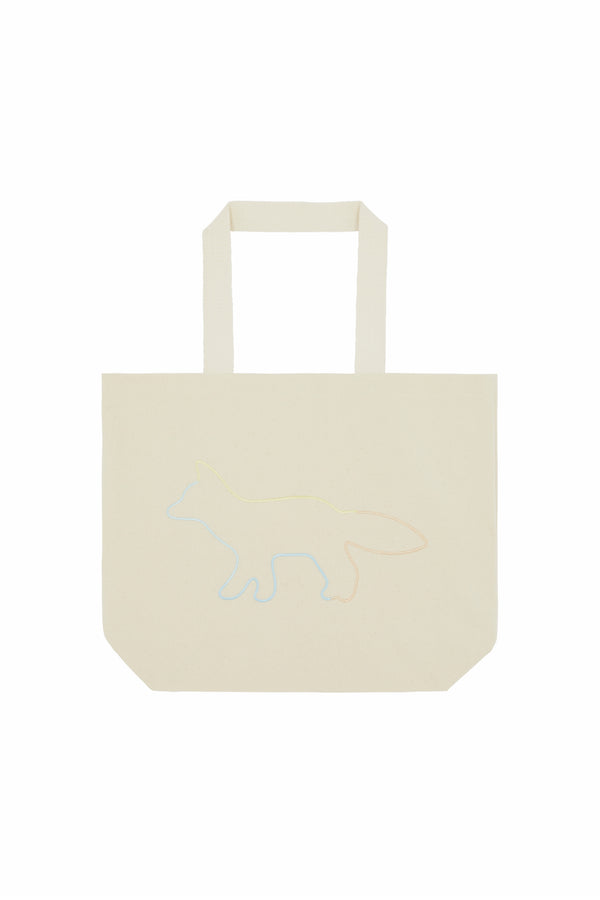 Rainbow Profile Fox Totebag