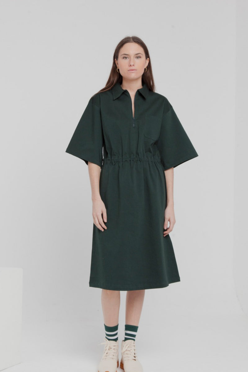 Scarab Green Kyoto Dress