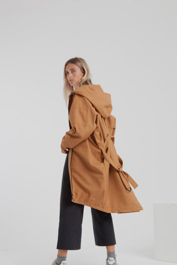 Brown Sugar Wizzard Parka