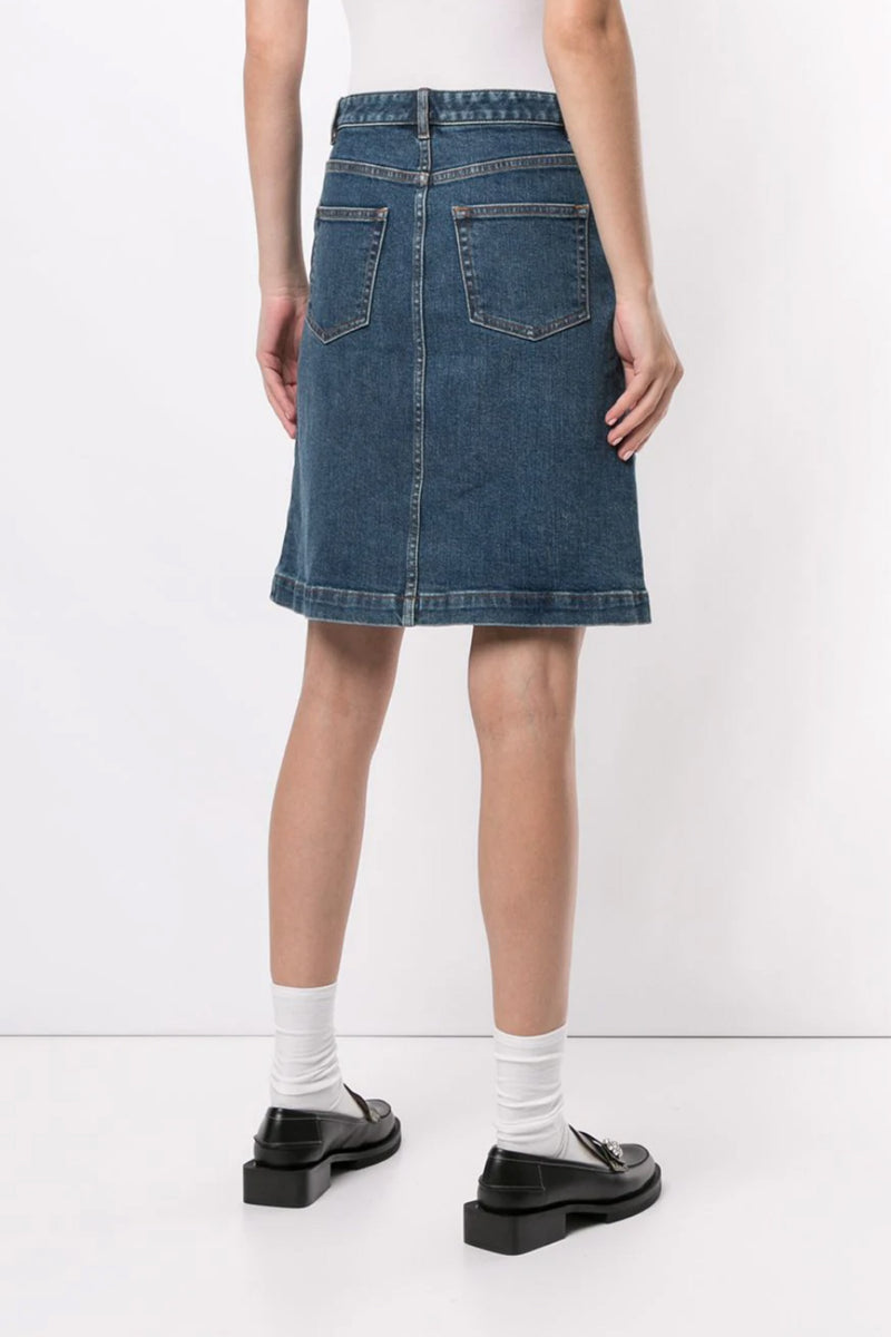 Therese Denim Skirt