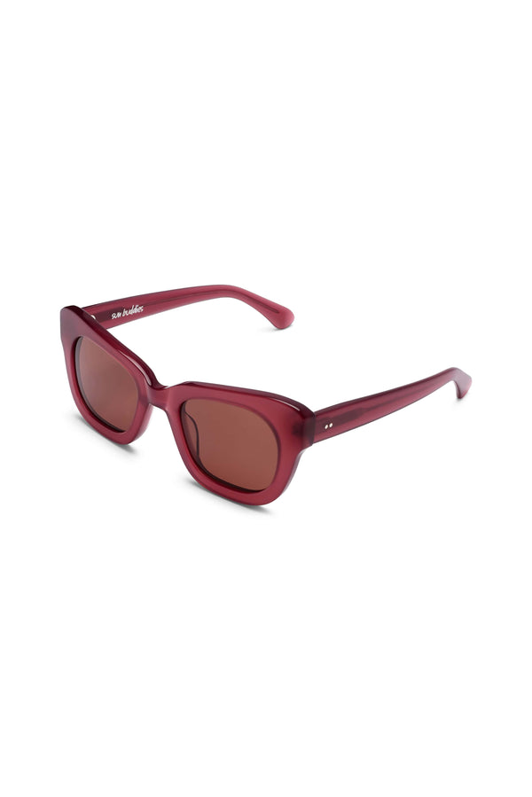 Manifesto Shop Sun Buddies Ethan Bloodmoon Sunglasses Tinted Lens Side View