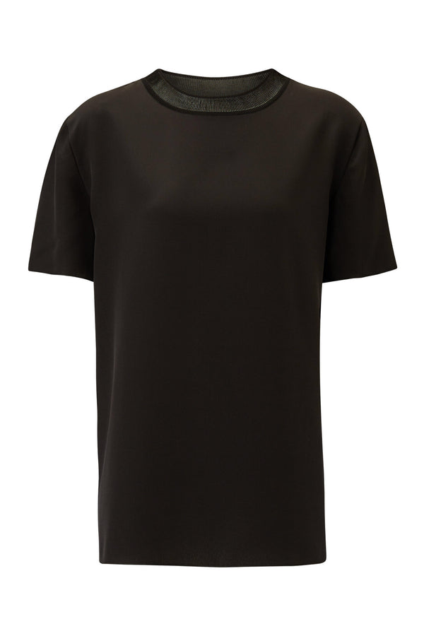 Black Rubin Crepe Top