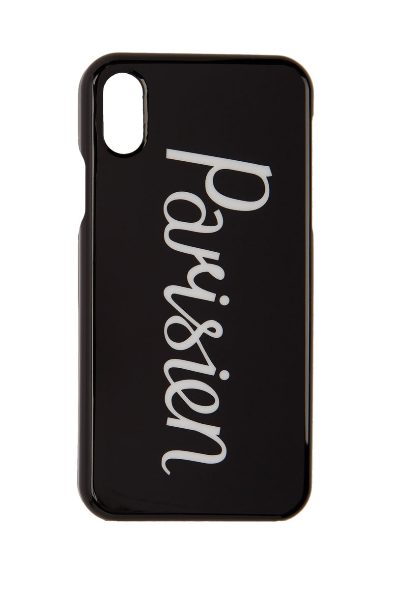 Black Parisien Iphone Case