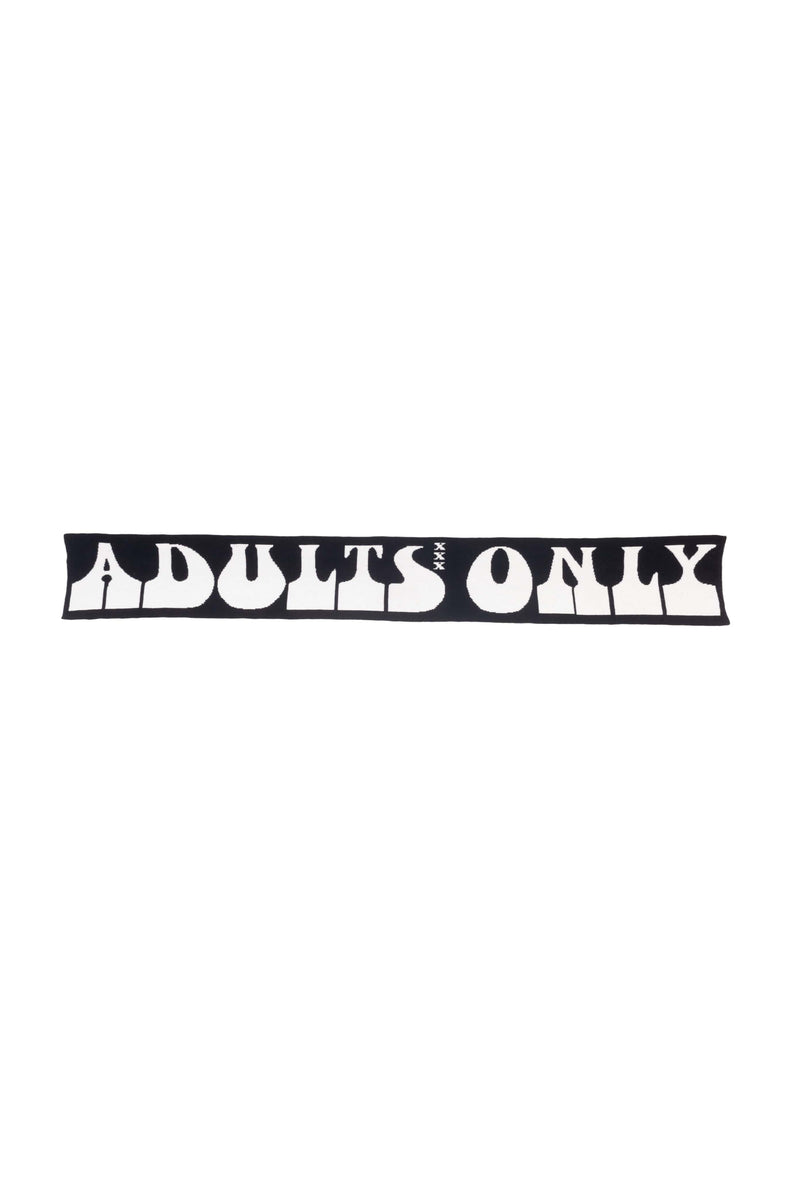 Black Adult Business Scarf