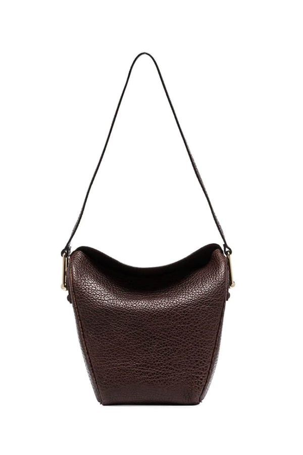 Brown Bison Small Folded Bag