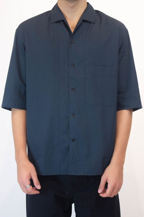 Convertible SS Collar Shirt