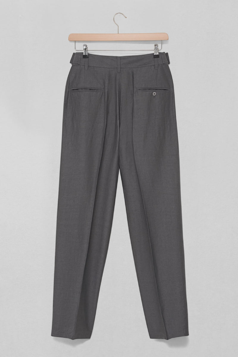 Stone Grey Military Chino Pants