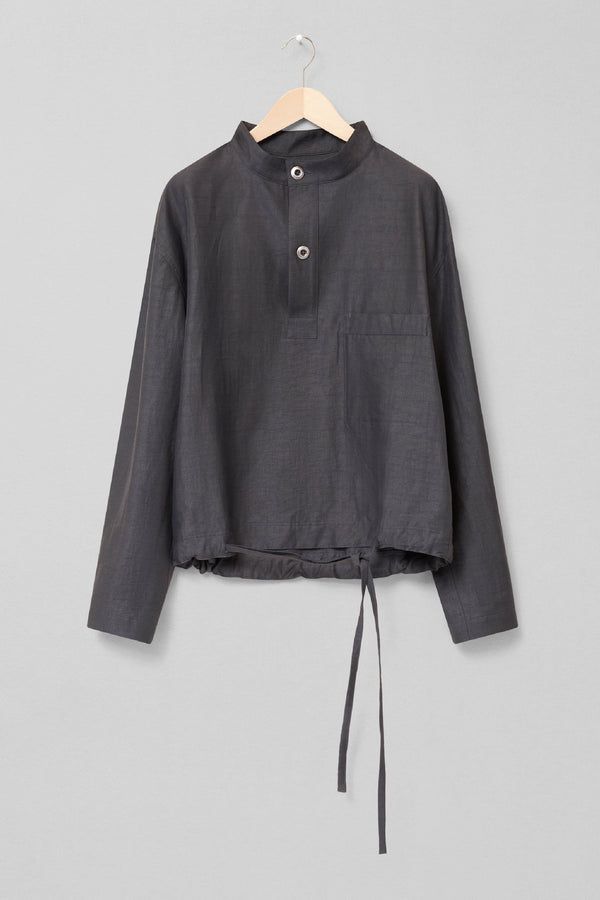 Stone Grey Smock Top