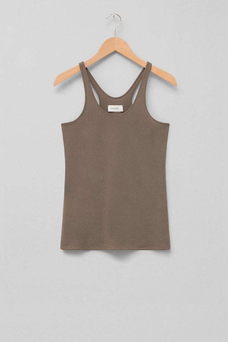 Granite Grey Jersey Tank Top