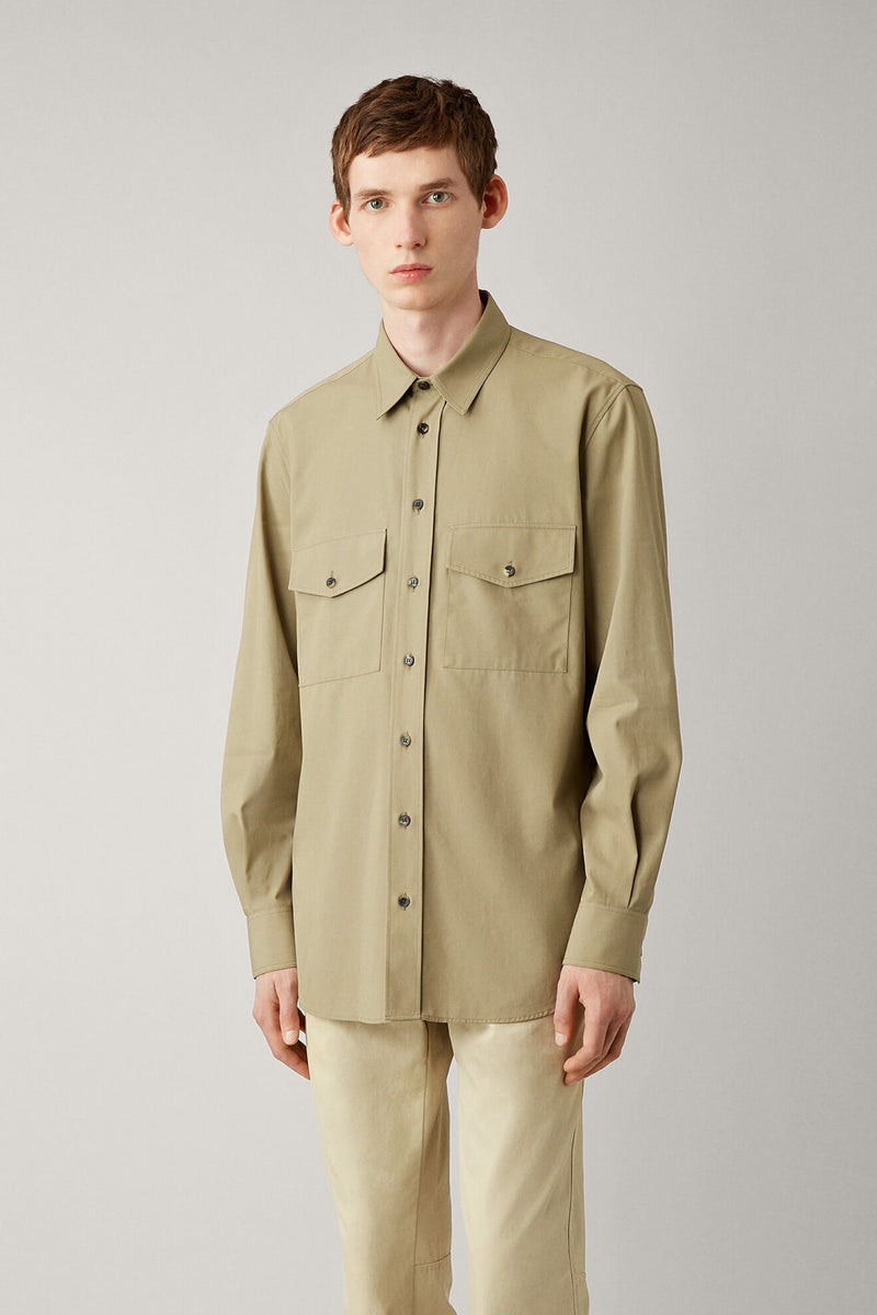 Joseph Cotton Twill Shirt