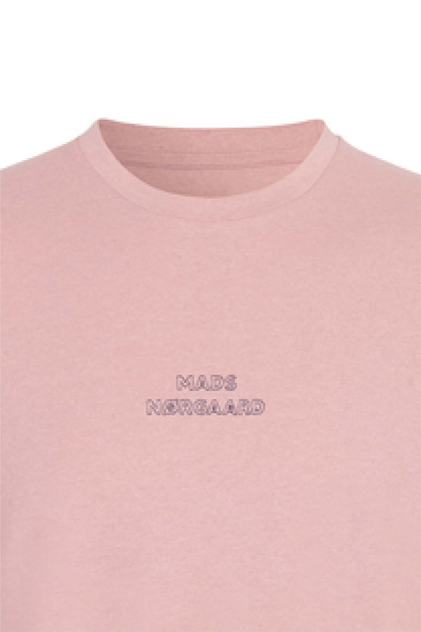 Dusty Pink Embroidery Thor Tee