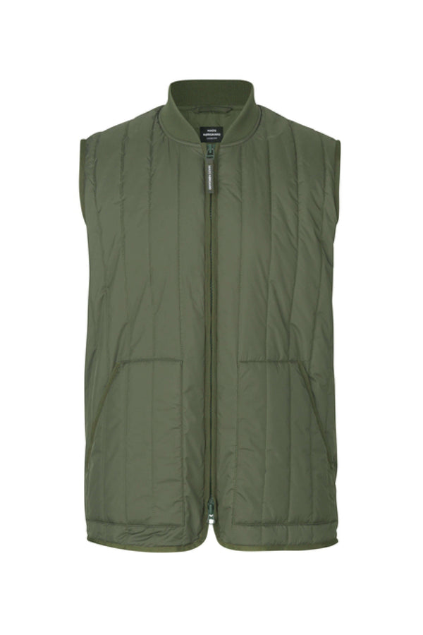 Green Quilted Jonas Vest