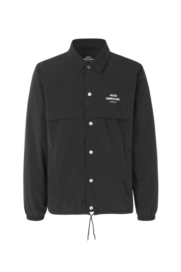 Black Nylon Coach jacket