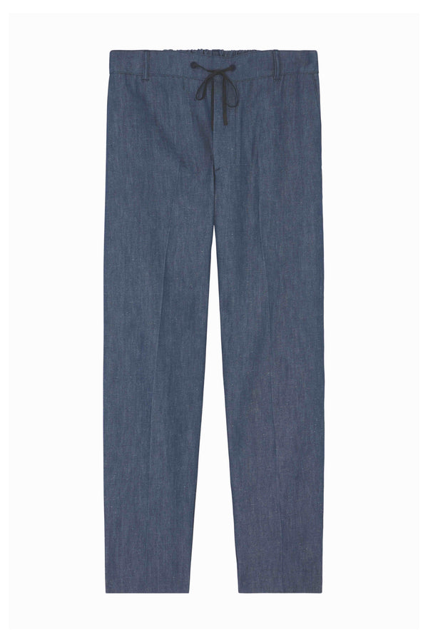 Navy City Pants