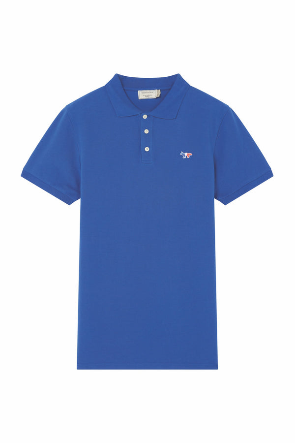 Royal BLue Tricolour Fox Patch Polo