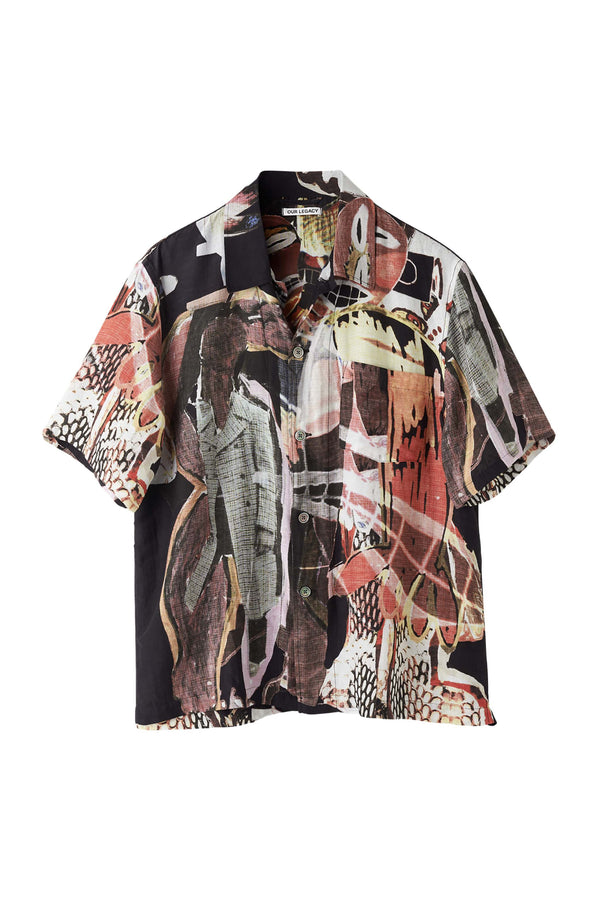 Peace Crowd Box Short Sleeve Shirt