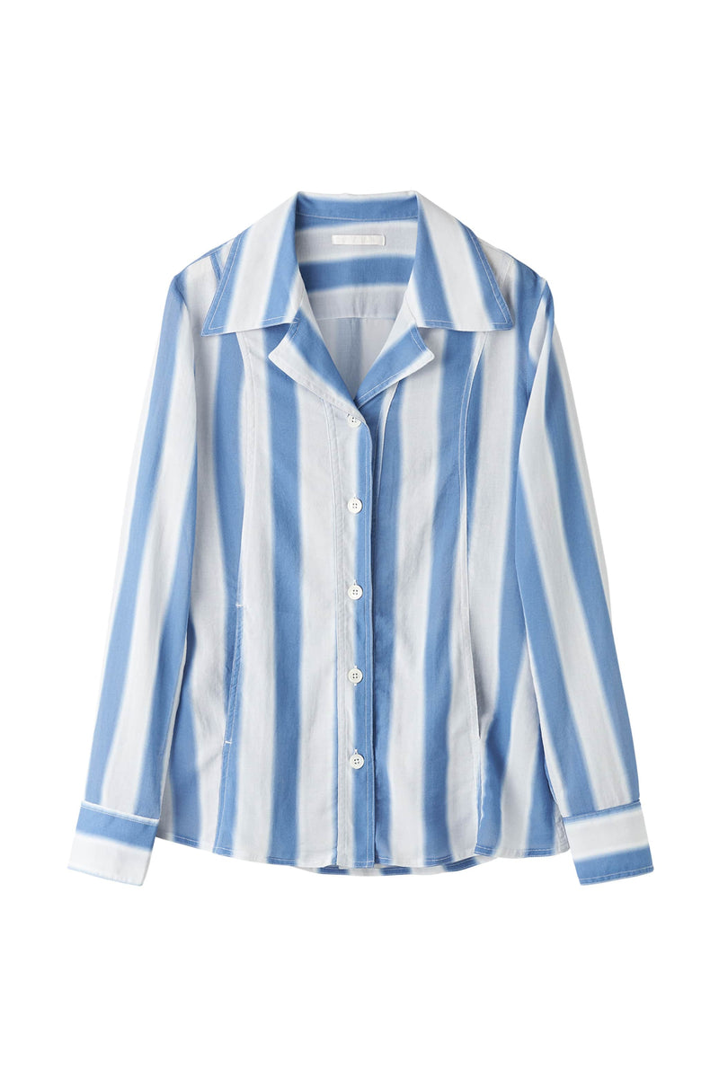 Blue Blur Stripe Soul Jacket