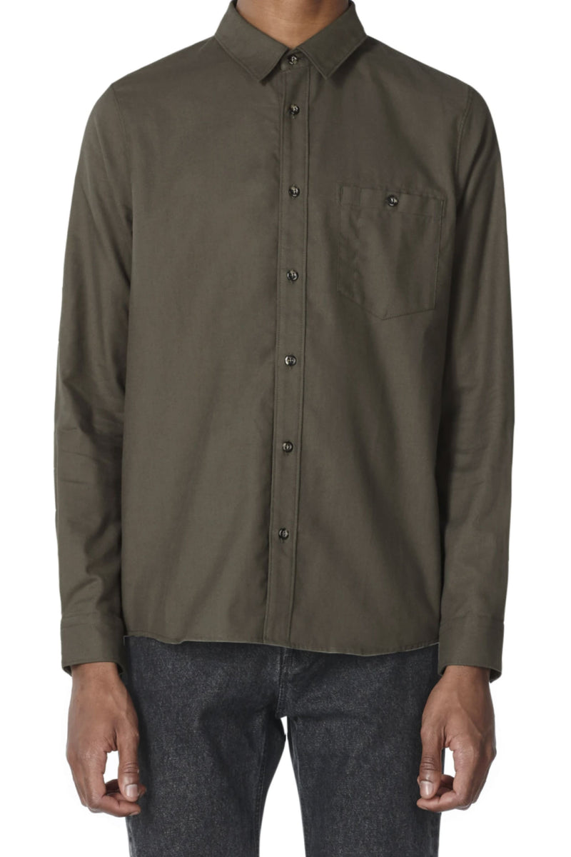 Khaki Chicago Flannel Shirt