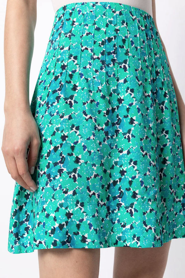 Blue Floral Lucy Skirt