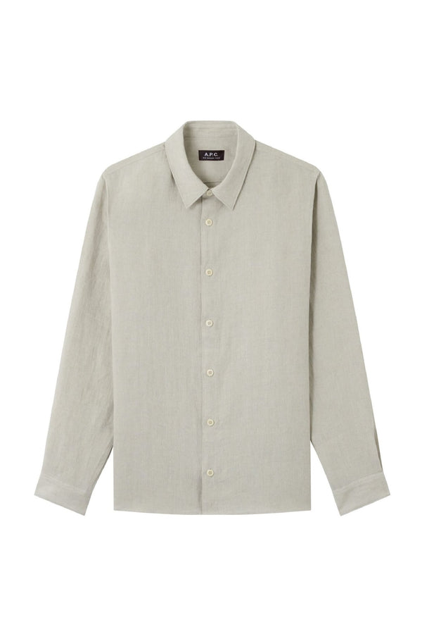 Chalk Vincent Linen Shirt