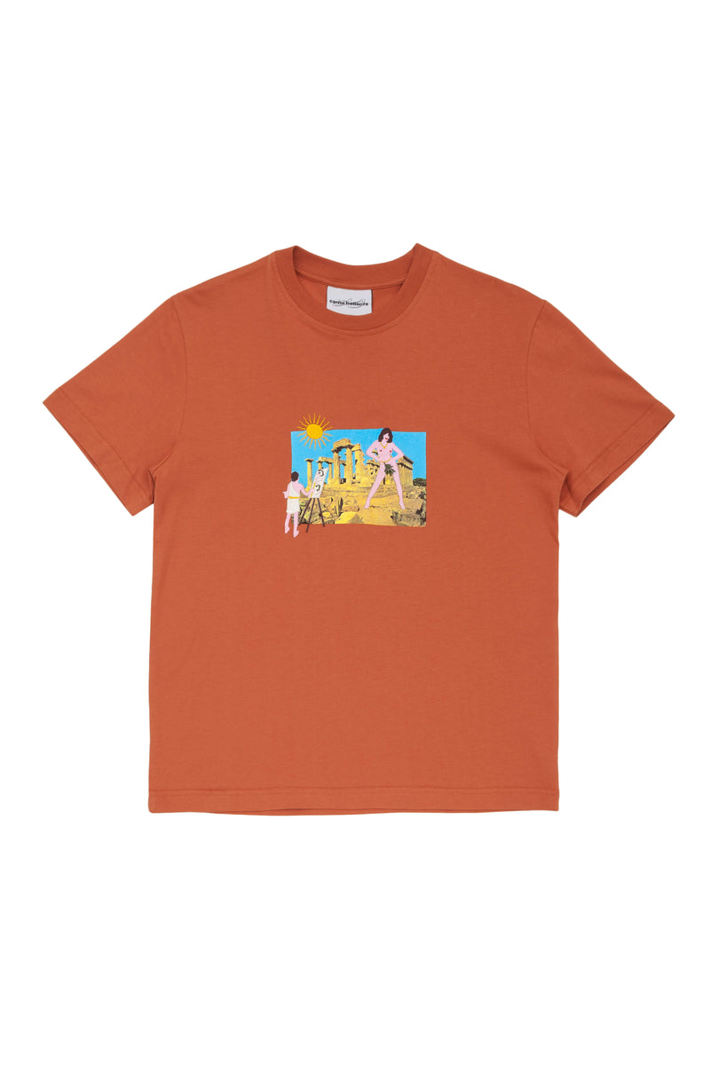 Orange Le Parteton Tshirt