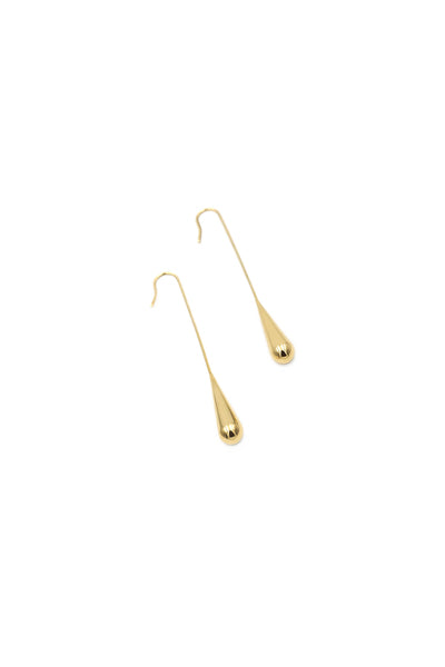 Water Drop Earring Long (G)