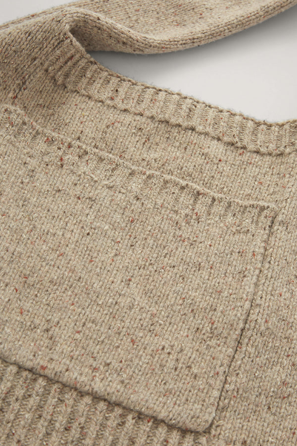 Tweed Knit Bag