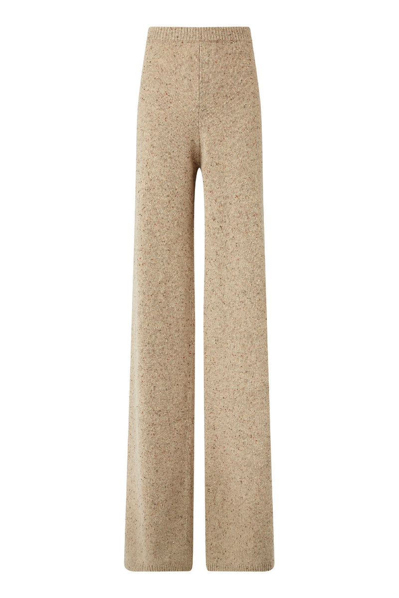 Tweed Knit Pants