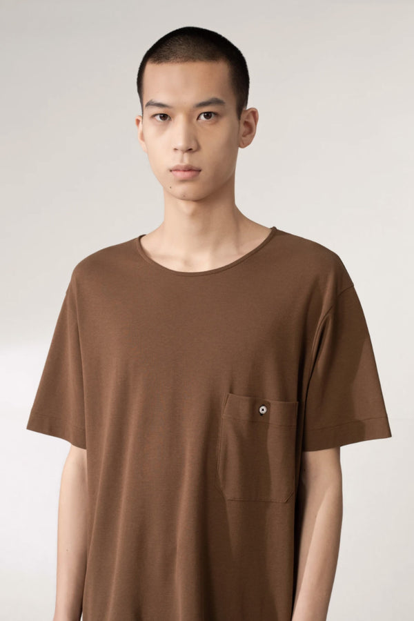 Dark Earth Crepe Chinese Tshirt