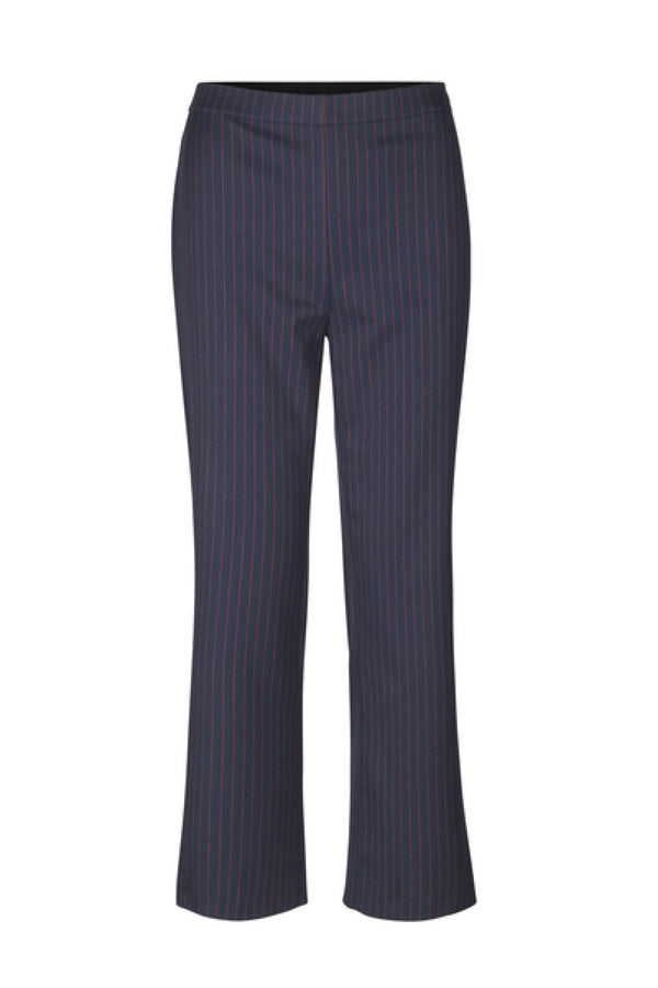 Navy/Red Pin Tech Prialla Pants