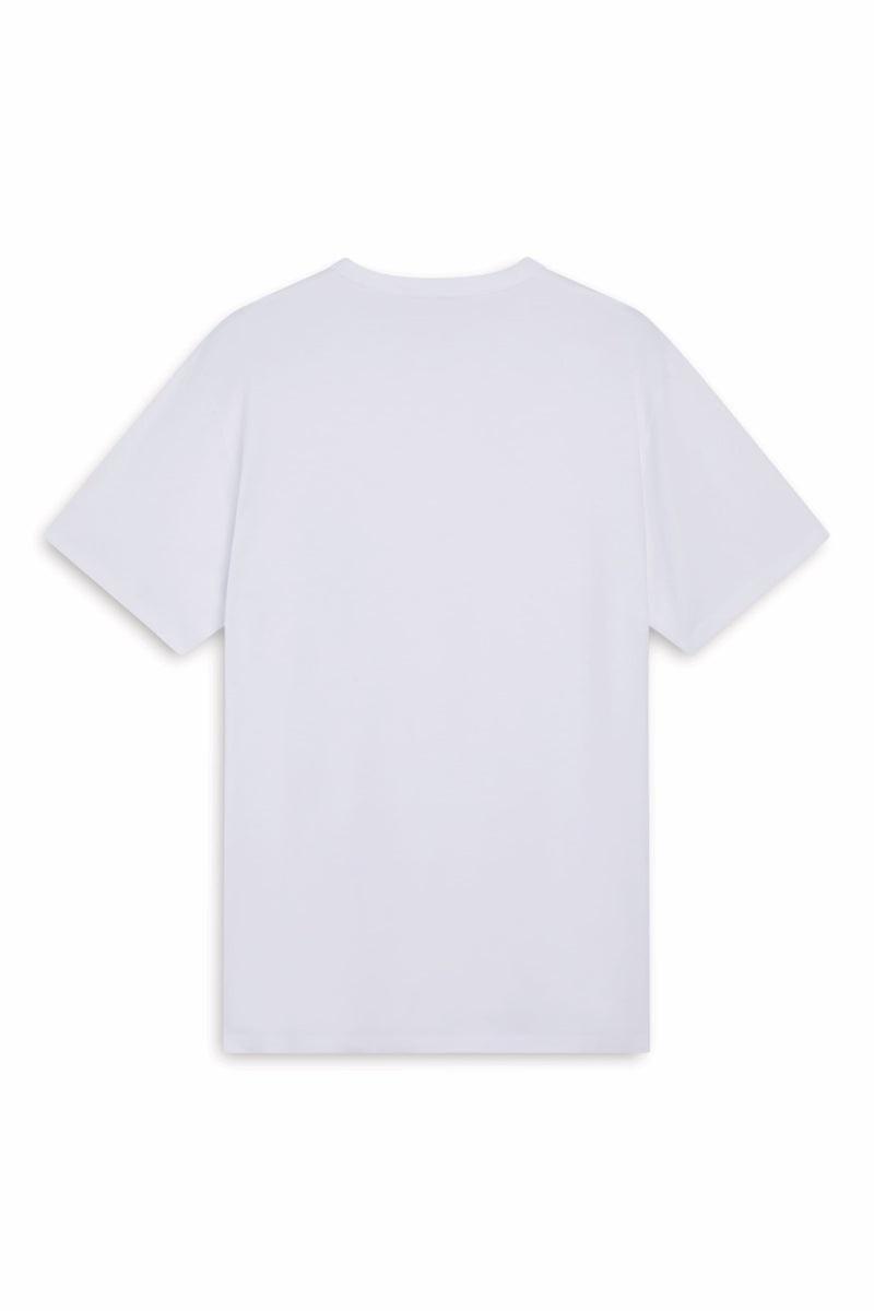 M Tricolour Fox White T-shirt