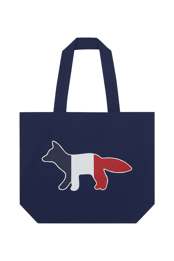 Navy Tricolour Fox Totebag