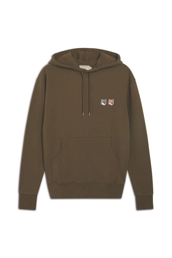 Khaki Double Foxhead Hoodie Pullover