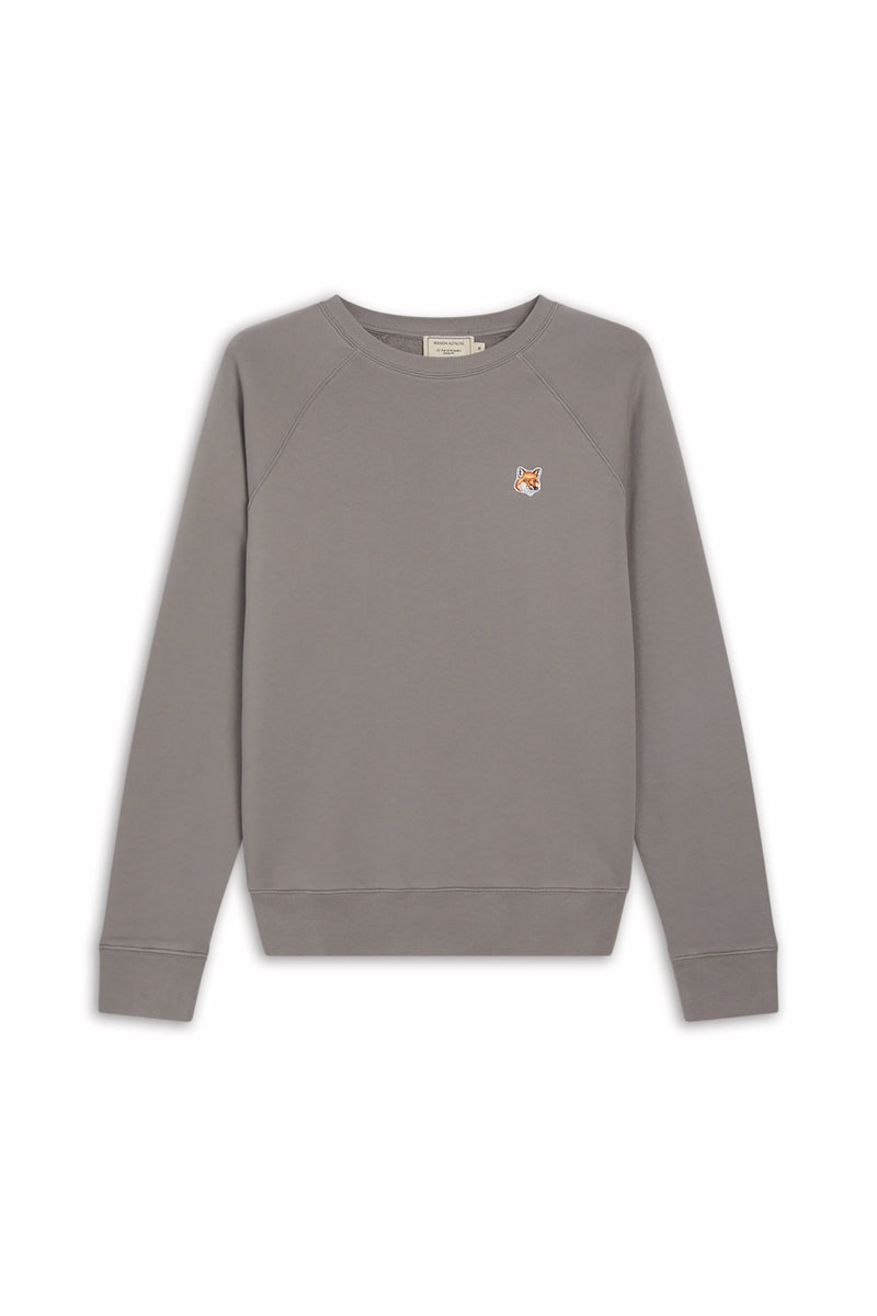 M Dark Grey Fox Head Sweatshirt